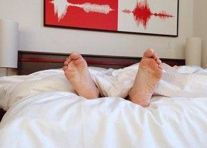 personne souffrant d'insomnie